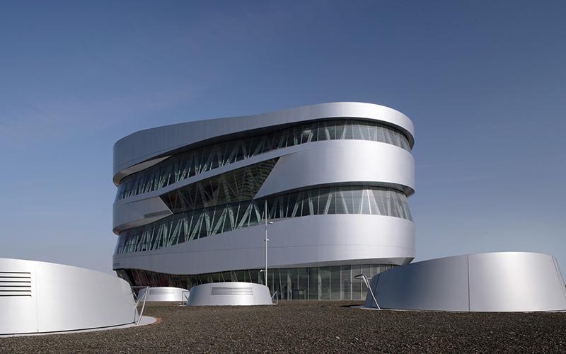 Mercedes–Benz Museum, ©UNStudio